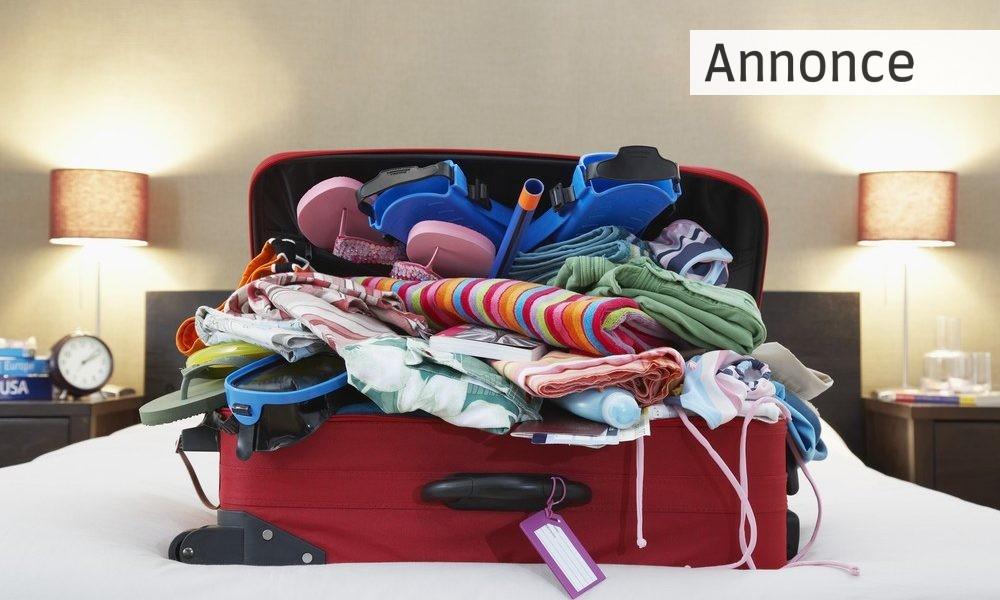 den rette kuffert til ferien